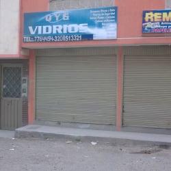 O y G Vidrios en Bogotá