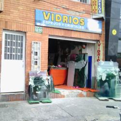 Vidrios Espejos y Cristales en Bogotá