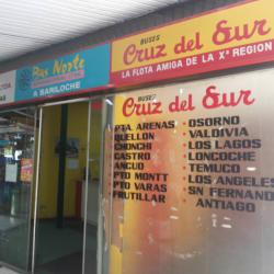Buses Cruz del Sur - Paseo Las Palmas en Santiago