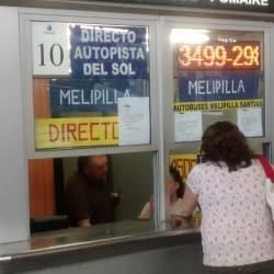 Buses Melipilla AGP - Terminal San Borja en Santiago
