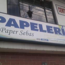 Papelería paper sebas en Bogotá