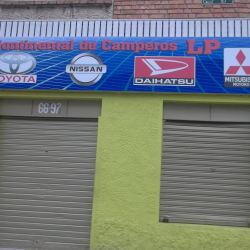 Continental de Camperos LP en Bogotá