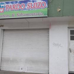 Pardo suizo en Bogotá