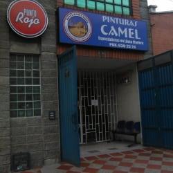 Pinturas camel en Bogotá