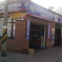 Droguería Servisalud Cota en Bogotá