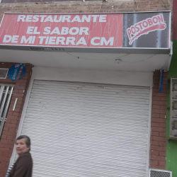 Restaurante El Sabor de Mi Tierra CM en Bogotá