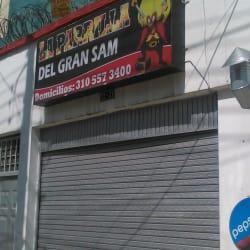 Restaurante parrilla el gran sam en Bogotá