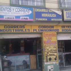 Rodamientos y correas industriales cf en Bogotá