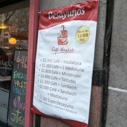 Café Bagdad en Santiago