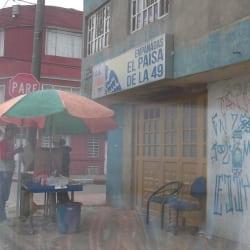 Empanadas El Paisa de la 49 en Bogotá