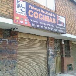 Fabrica Nacional de Cocinas Fanaco en Bogotá