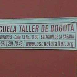 Escuela Taller de Bogotá Sede Estación de la Sabana en Bogotá