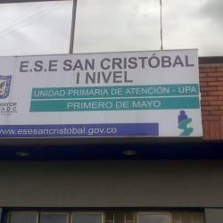 ESE San Cristobal UPA 1 de Mayo en Bogotá
