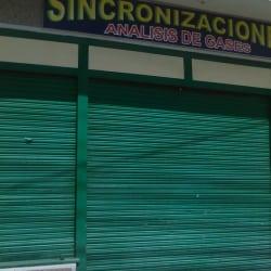 Sincronizaciones Analisis de Gases en Bogotá