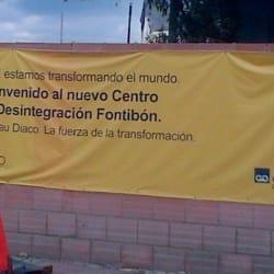 Geraud Diaco en Bogotá
