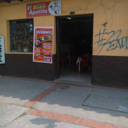 Restaurante El Buen Apetito en Bogotá