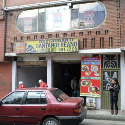 Restaurante Santandereano Calle 13 en Bogotá