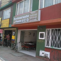 Restaurante Punto Rico Carrera 3 con 17B en Bogotá
