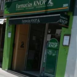 Farmacia Knop - Av. Nueva Providencia / Diego Velázquez  en Santiago