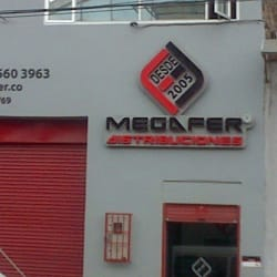 Megafer distribuciones en Bogotá
