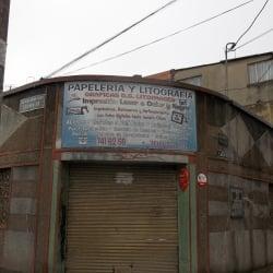 Graficas D.F Litoimagen en Bogotá