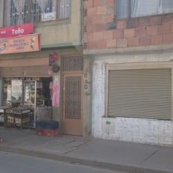 Tienda Toño en Bogotá