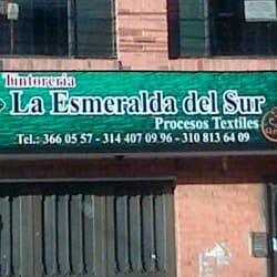 Tintorería la esmeralda del sur en Bogotá