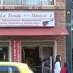 La Tienda de los Musicos 4 en Bogotá