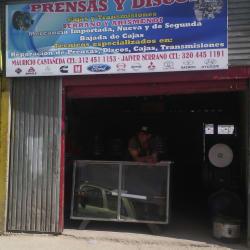 Prensas y Discos Cajas y Transmisores en Bogotá