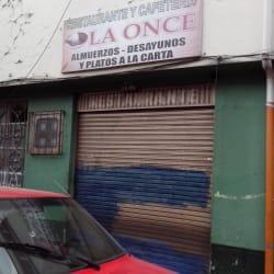 Restaurante y Cafeteria La Once en Bogotá