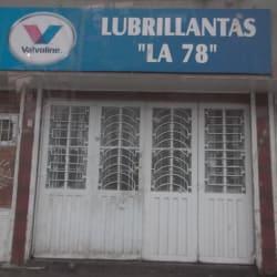 Lubrillantas La 78 en Bogotá