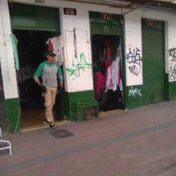 Tienda de Ropa Calle 13 en Bogotá