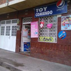 Toy Comiendo en Bogotá