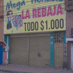 Mega Tiendas La Rebaja en Bogotá