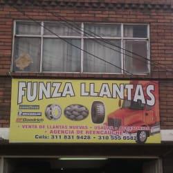 Funza Llantas en Bogotá