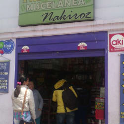 Papelería y Miscelánea Nakiroz Cota en Bogotá