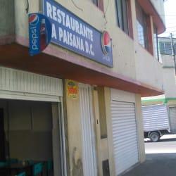 Restaurante La Paisana D.C en Bogotá