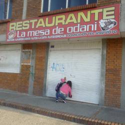 Restaurante La Mesa de Odani en Bogotá
