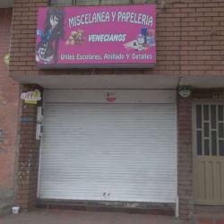 Miscelanea y Papeleria Venecianos en Bogotá