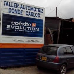 Taller Automotriz Donde Carlos en Bogotá