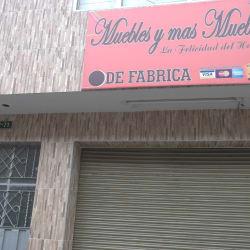 Muebles y Más Muebles en Bogotá