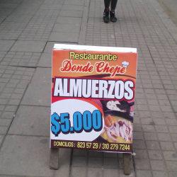 Restaurante Donde Chepe en Bogotá