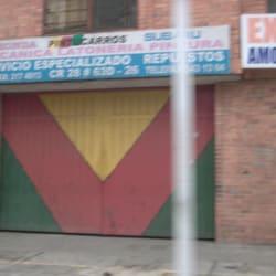 Pintucarros en Bogotá