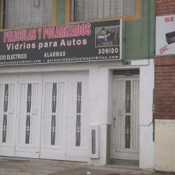 Peliculas y Polarizados Vidrios Para Autos en Bogotá