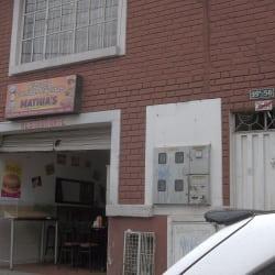 Pizzeria Comidas Rápidas Mathia´s en Bogotá