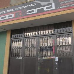 Publicidad Concord en Bogotá