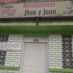 Restaurante Jhon y Juan en Bogotá