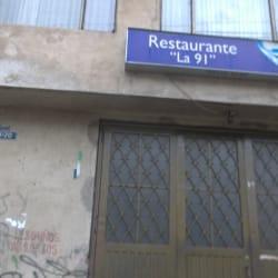 Restaurante La 91 en Bogotá