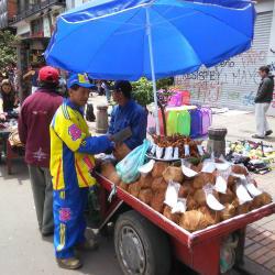Puesto Ambulante Bernardo Granados en Bogotá