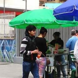 Puesto Ambulante Jugo de Naranja en Bogotá
